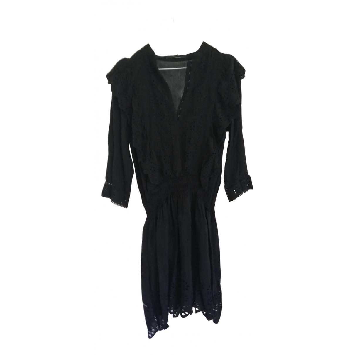 Scotch & Soda \N Kleid in  Schwarz Viskose