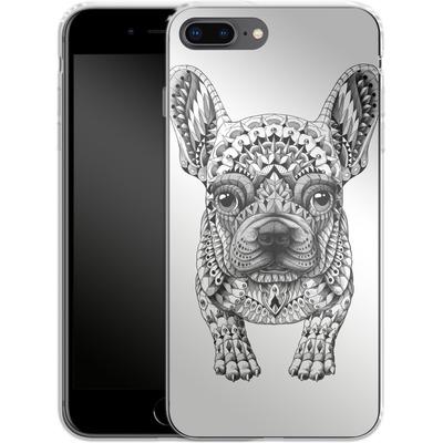 Apple iPhone 7 Plus Silikon Handyhuelle - French Bulldog von BIOWORKZ