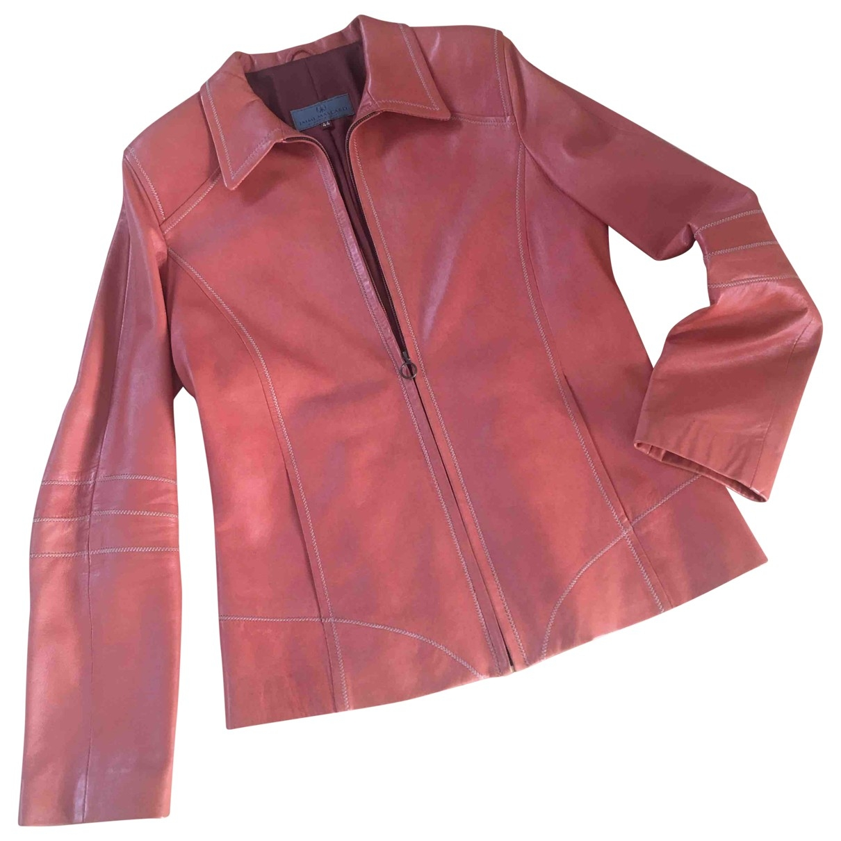 Jaime Mascaro - Blouson   pour femme en cuir