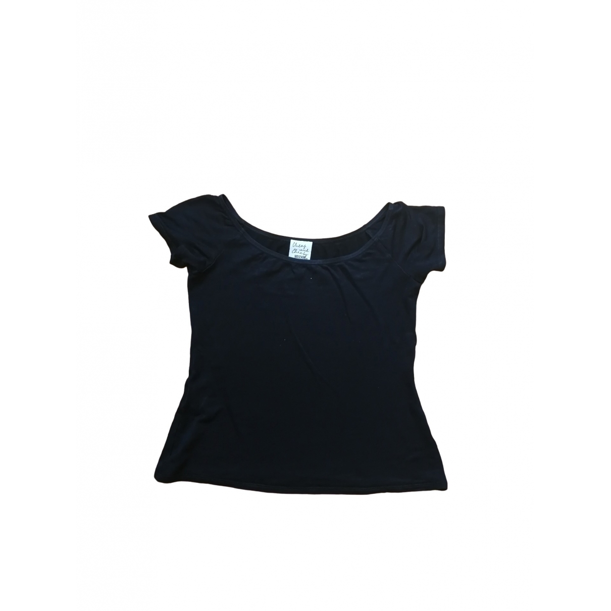 Moschino Cheap And Chic - Top   pour femme - noir