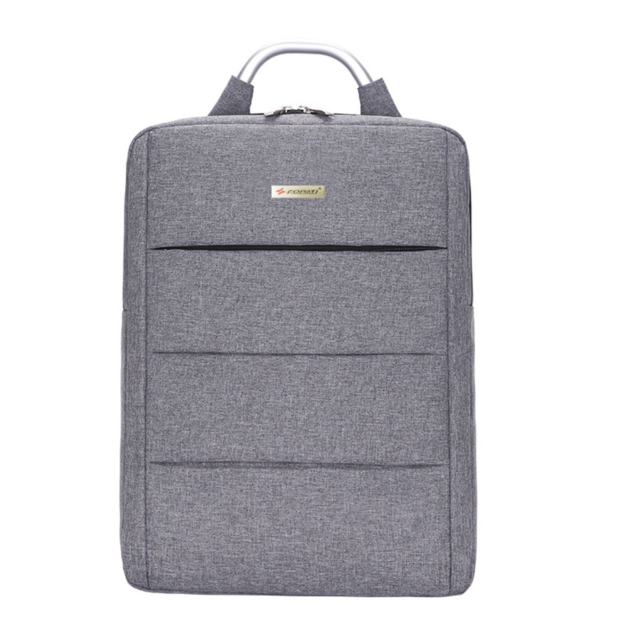 Classical Square Design Business Multi Space Laptop Backpack