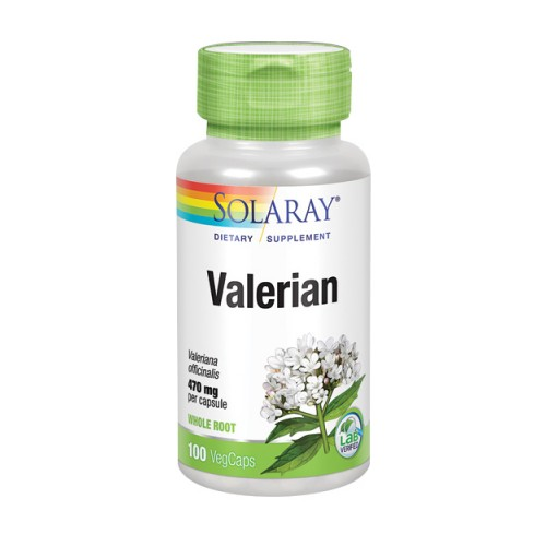 Valerian 100 Caps by Solaray
