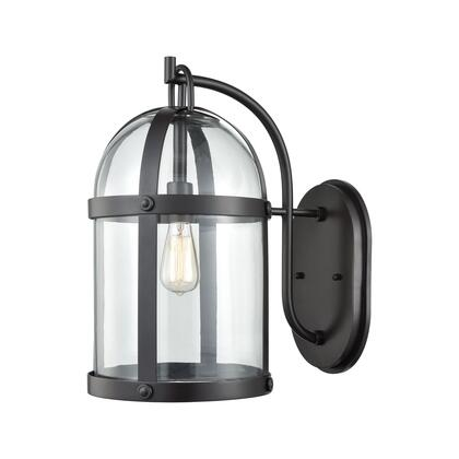 47511/1 Hunley 1 Outdoor Sconce Oil Rubbed