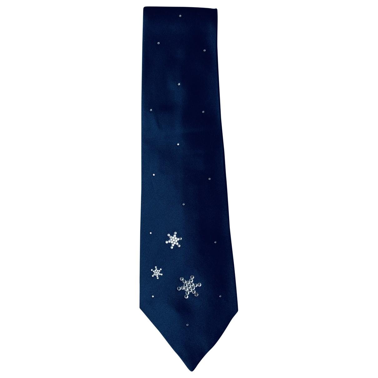 Byblos - Cravates   pour homme en soie - marine