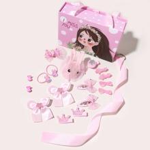 18 piezas accesorio de pelo de niñitas con diseño de lazo