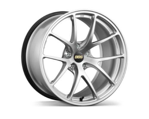 BBS RI-A Wheel 18x9.5 5x114.3 35mm Diamond Silver