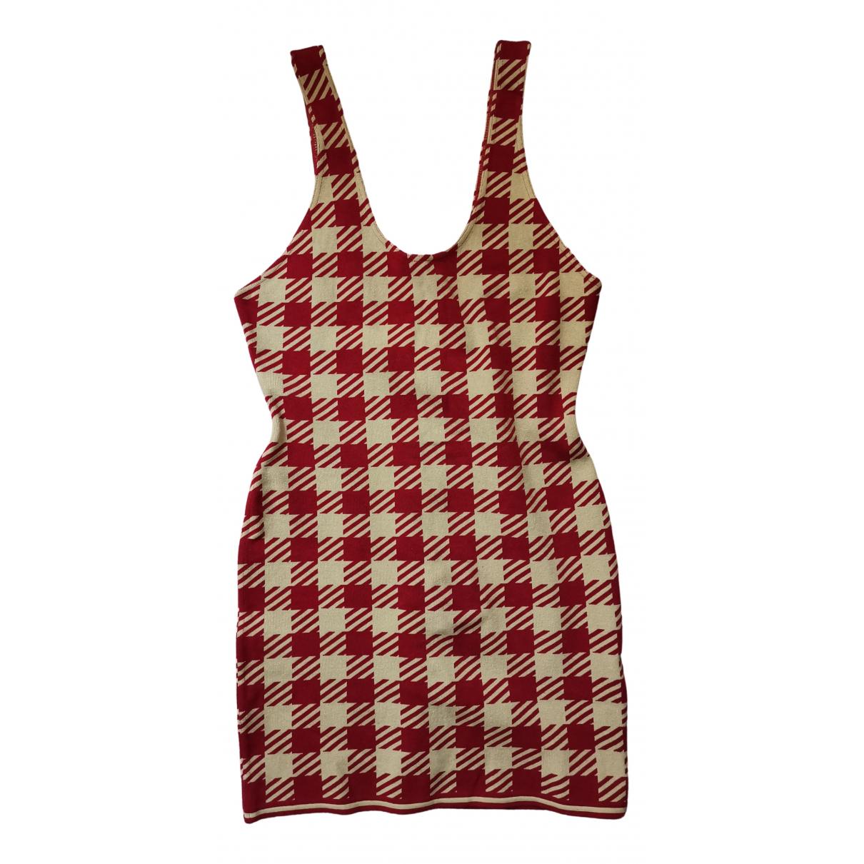 Alaia - Robe   pour femme en coton - rouge