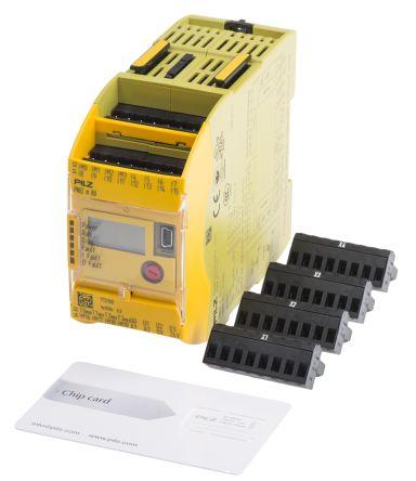 Pilz PNOZmulti 2 PNOZ m BO Series Safety Controller, 20 Safety Inputs, 4 Safety Outputs, 24 V dc