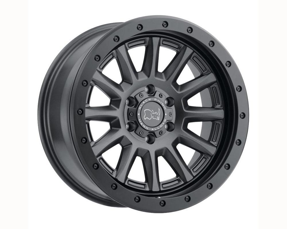 Black Rhino Dugger Wheel 16x8 5x114.30 -10 Gun Black