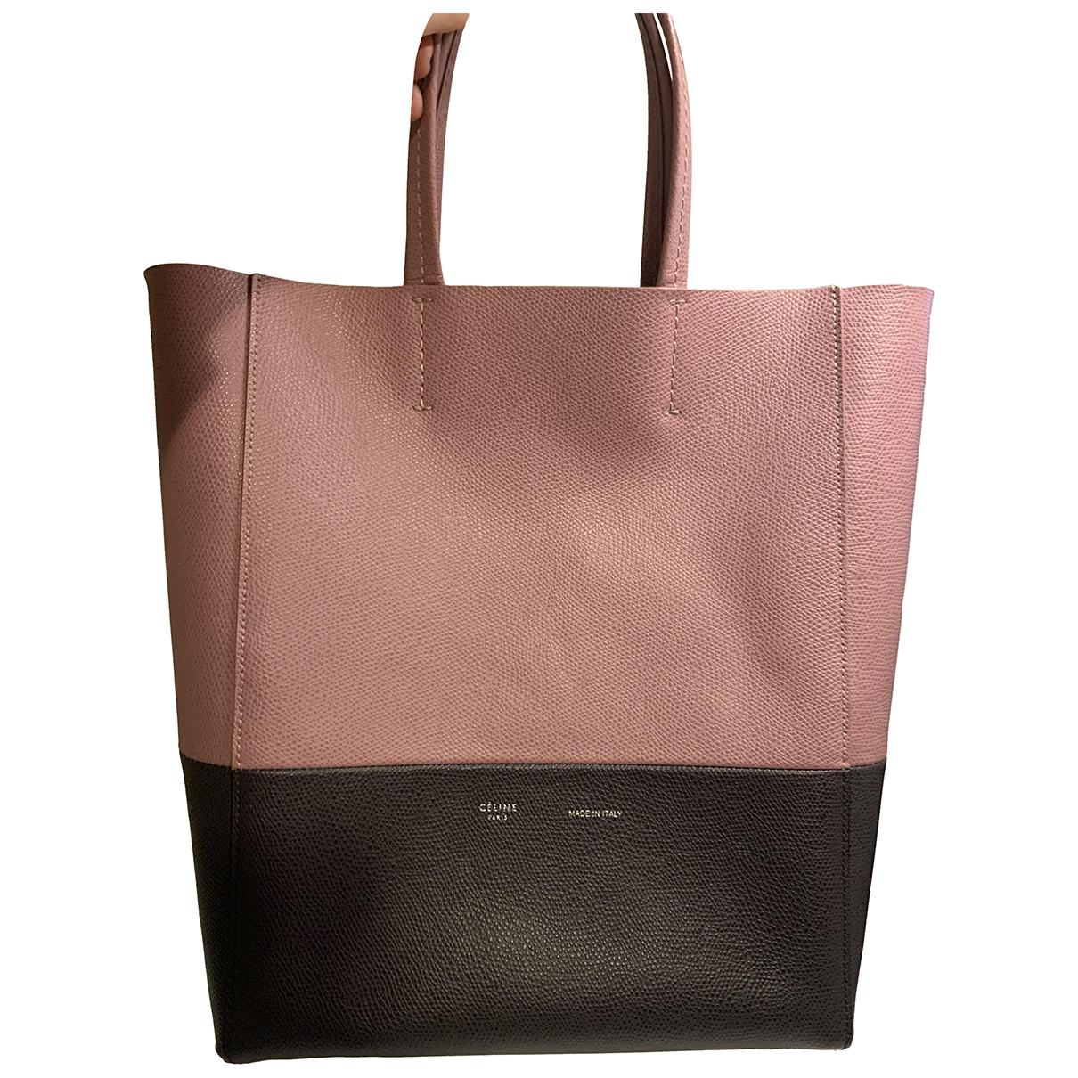 Celine Cabas Pink Leather handbag for Women N