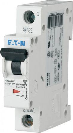 Eaton xEffect 4 A MCB Mini Circuit Breaker, 1P Curve D