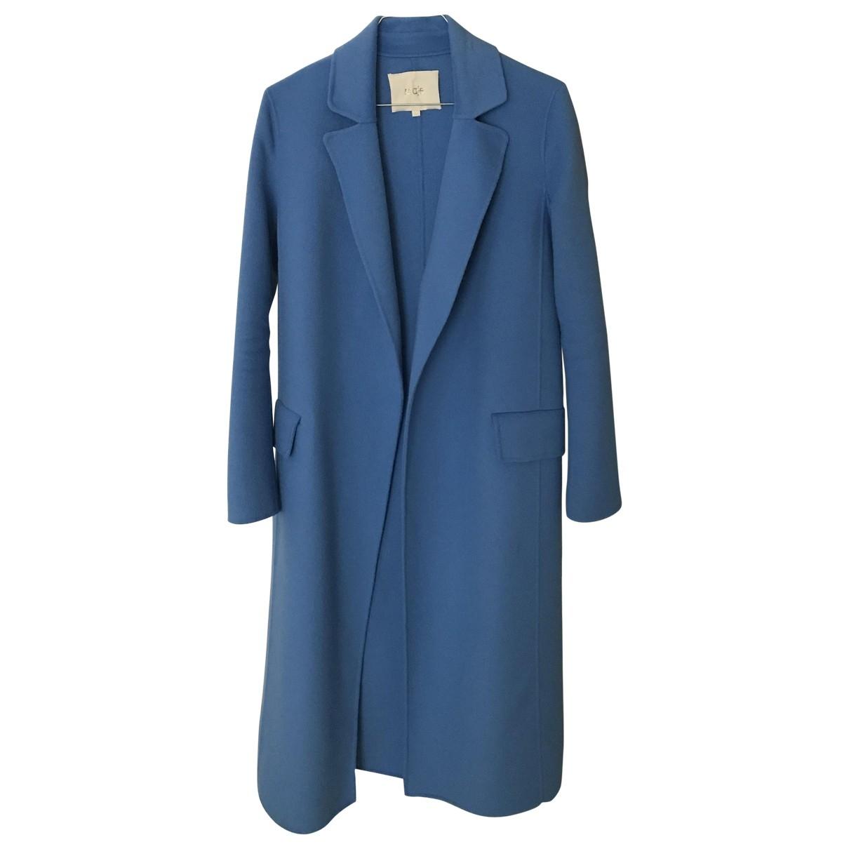 Maje \N Maentel in  Blau Polyester
