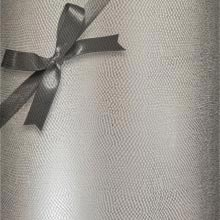 Metal #k9151 Slvr Shimmer Snakeskin - Gift Wrap - 26 X 417' - - Gift Wrapping Paper by Paper Mart