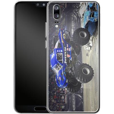 Huawei P20 Silikon Handyhuelle - Firestone von Bigfoot 4x4