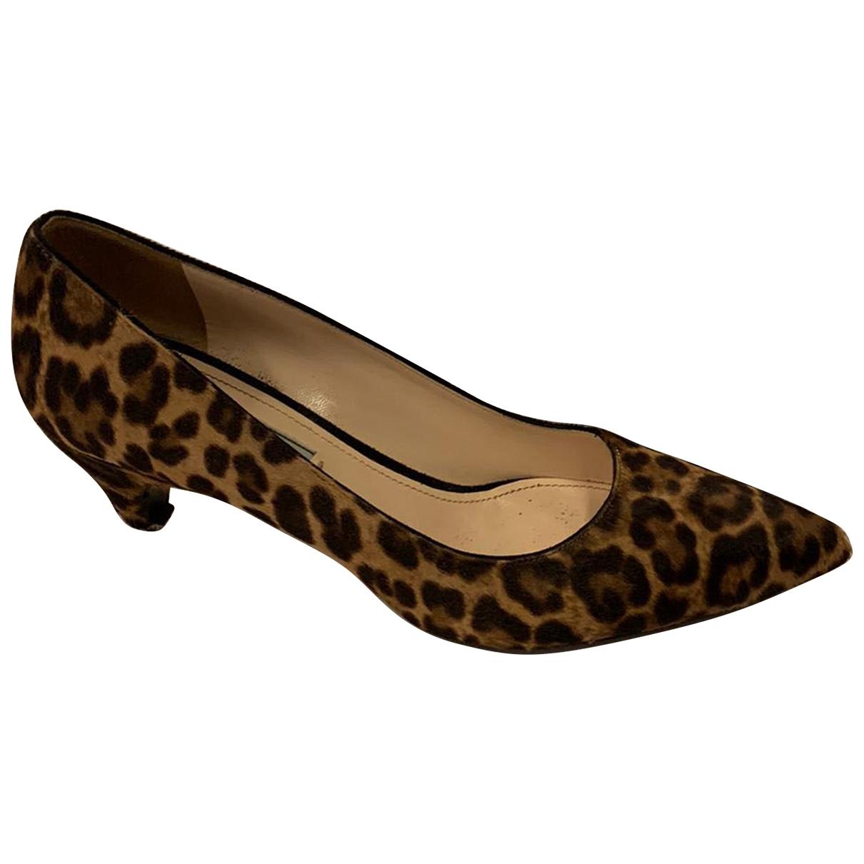 Prada \N Pony-style calfskin Heels for Women 41 EU