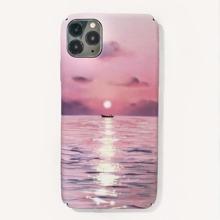iPhone Etui mit Sonnenuntergang Muster