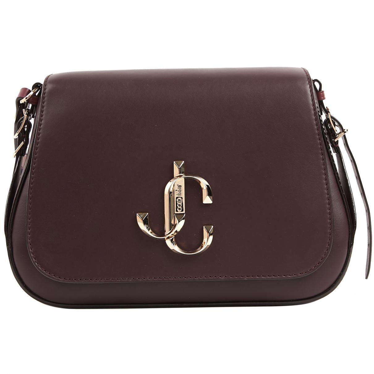 Jimmy Choo \N Burgundy Leather Clutch bag for Women \N