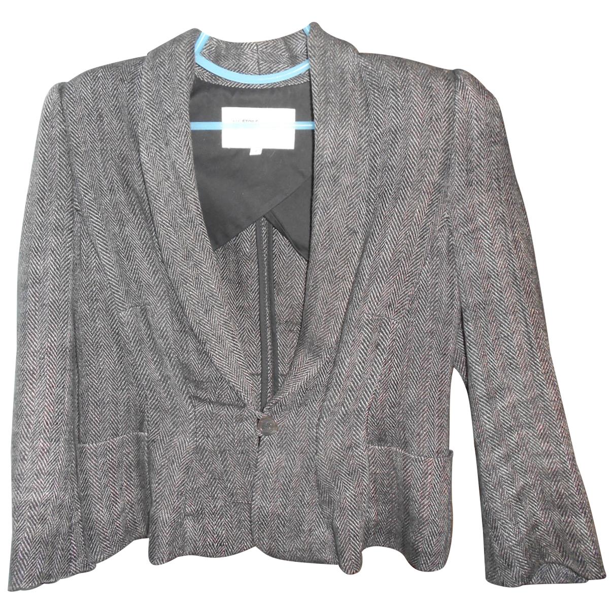 Isabel Marant Etoile \N Anthracite Linen jacket for Women 2 0-5
