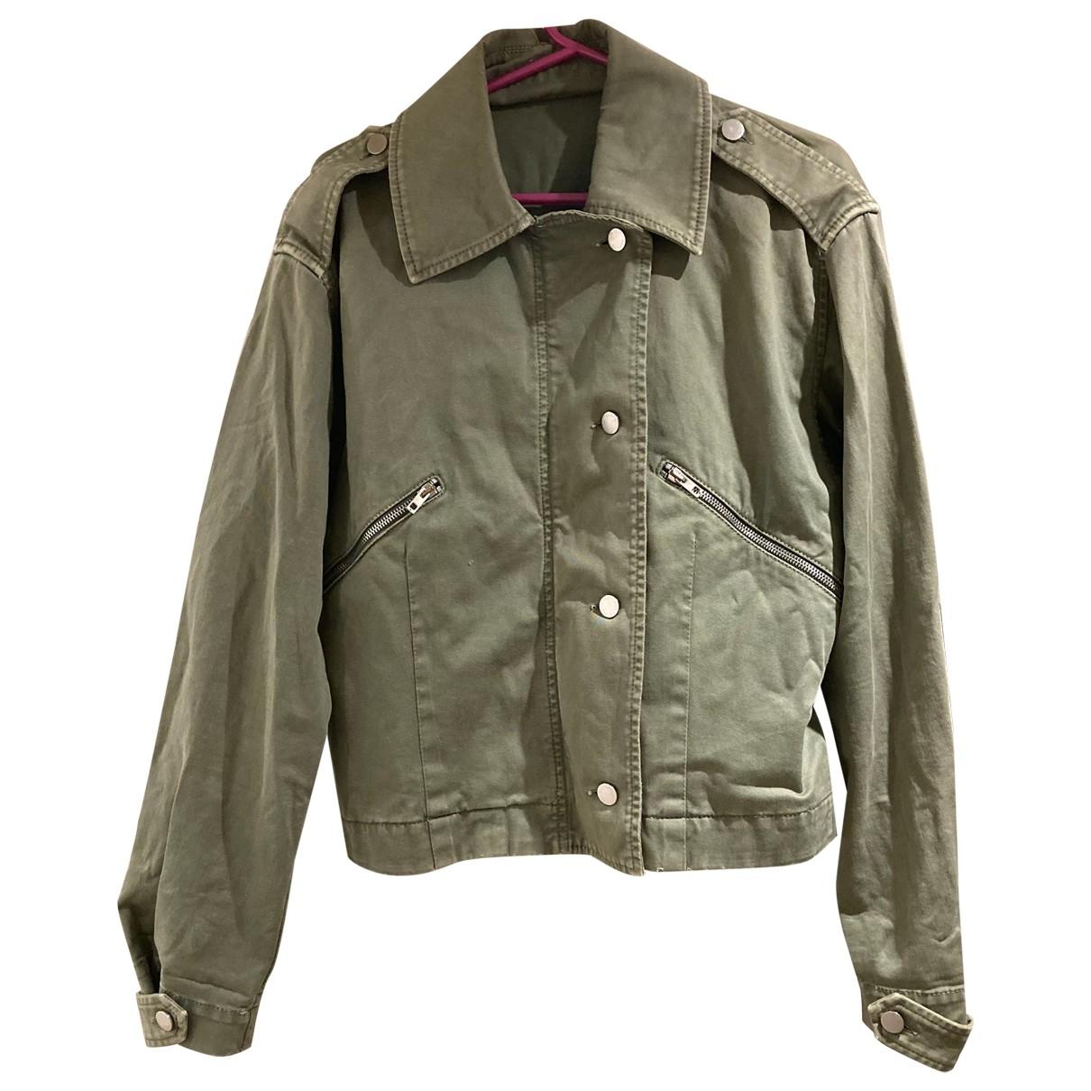 Stella Mccartney N Green Cotton jacket for Women 40 IT