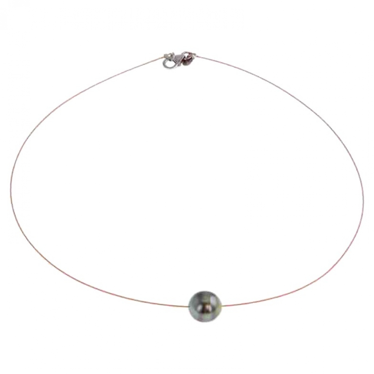 Rambaud \N Black Pearl necklace for Women \N