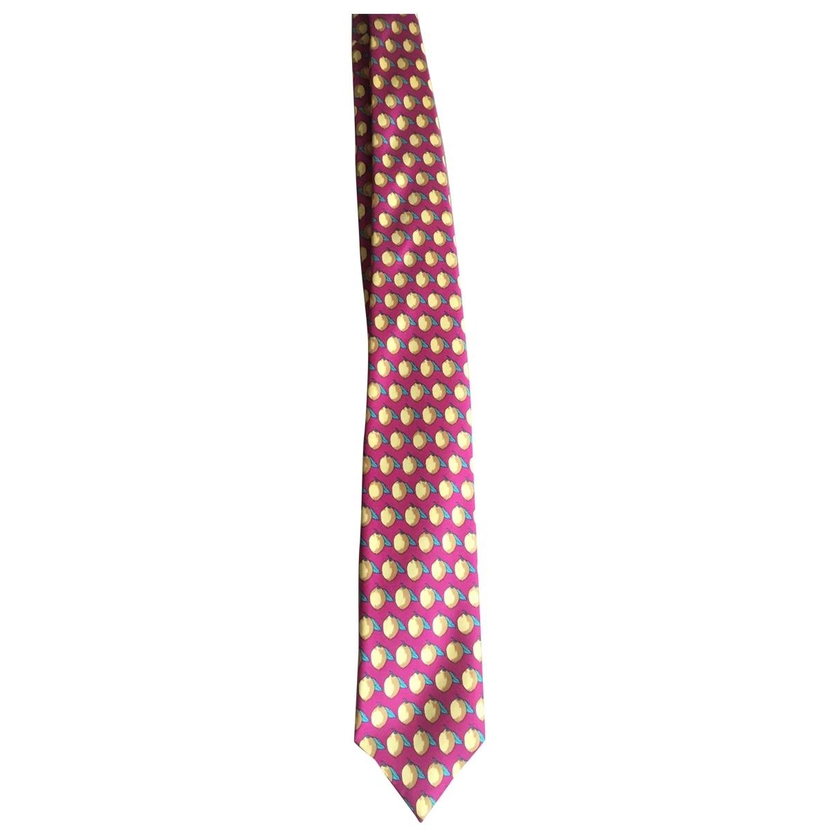Hackett London \N Krawatten in  Gelb Seide