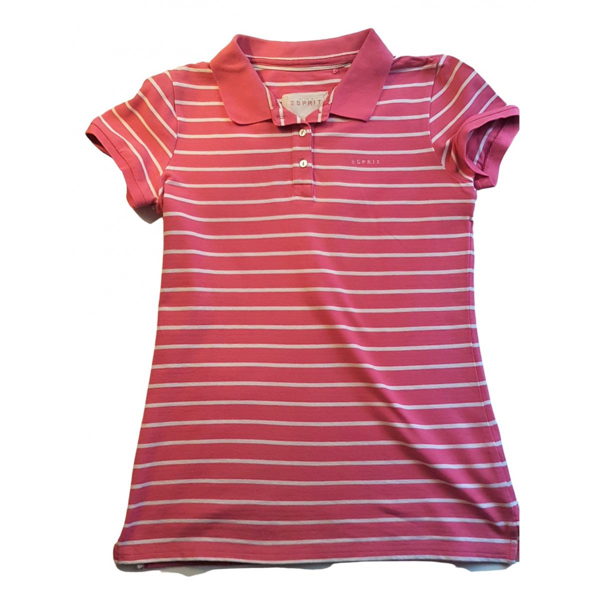 Esprit - Top   pour femme en coton - multicolore