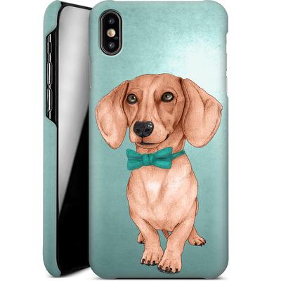 Apple iPhone XS Max Smartphone Huelle - Dachshund the Wiener Dog von Barruf