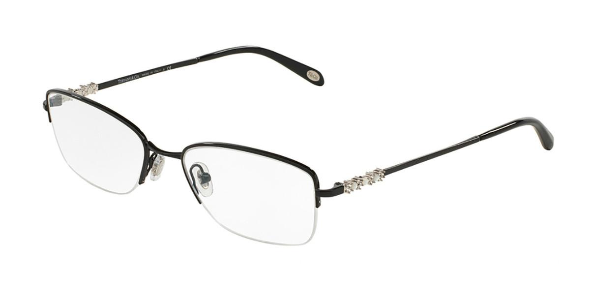 Tiffany & Co. TF1109HB 6097 Women's Glasses Black Size 51 - Free Lenses - HSA/FSA Insurance - Blue Light Block Available