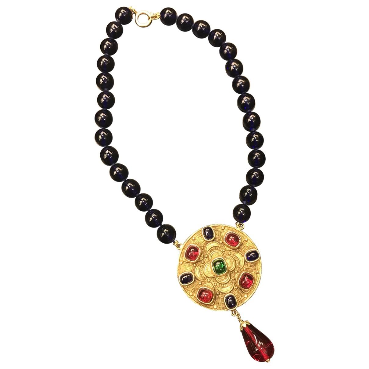 Chanel - Collier   pour femme en verre - multicolore