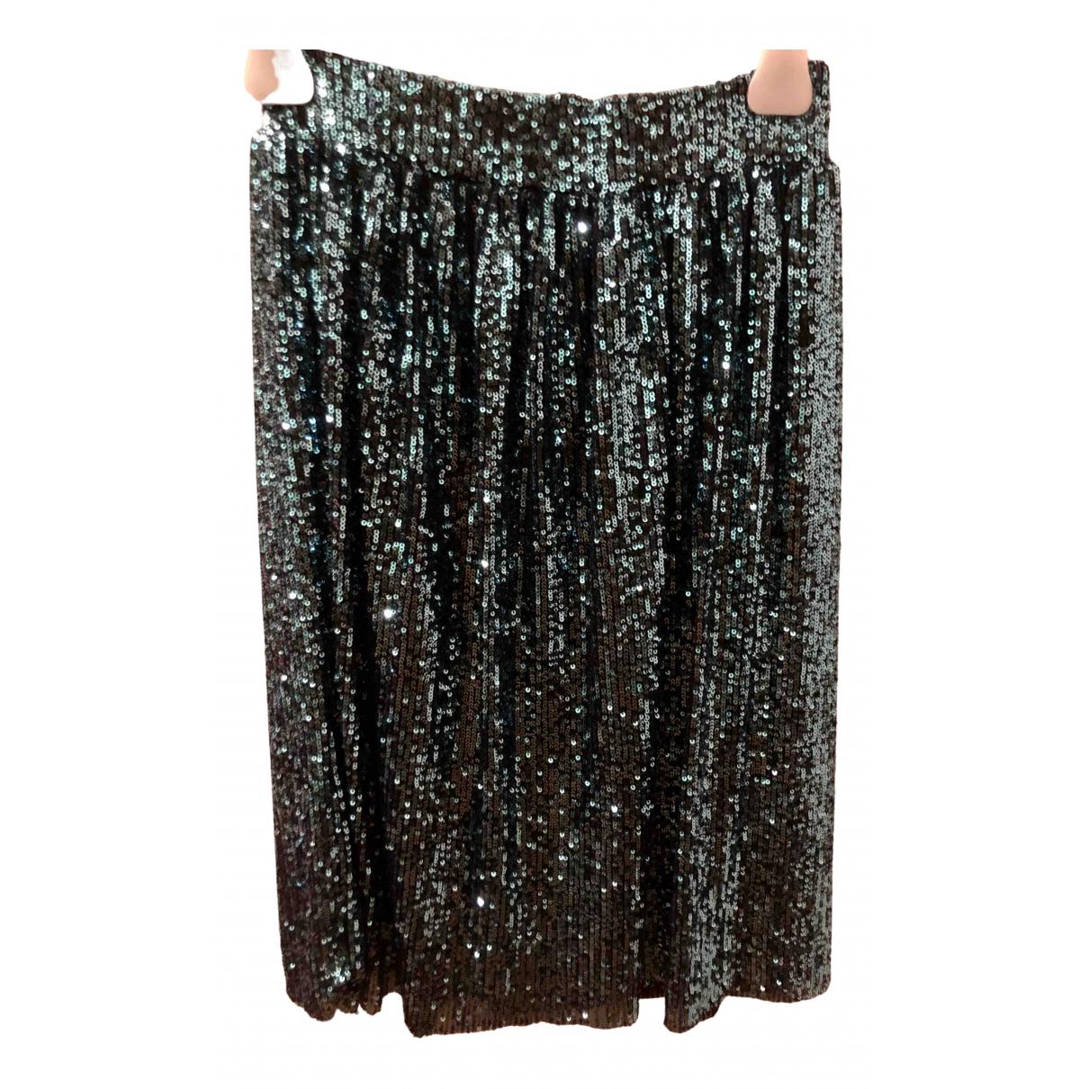 Non Signé / Unsigned \N Metallic Glitter skirt for Women XS International