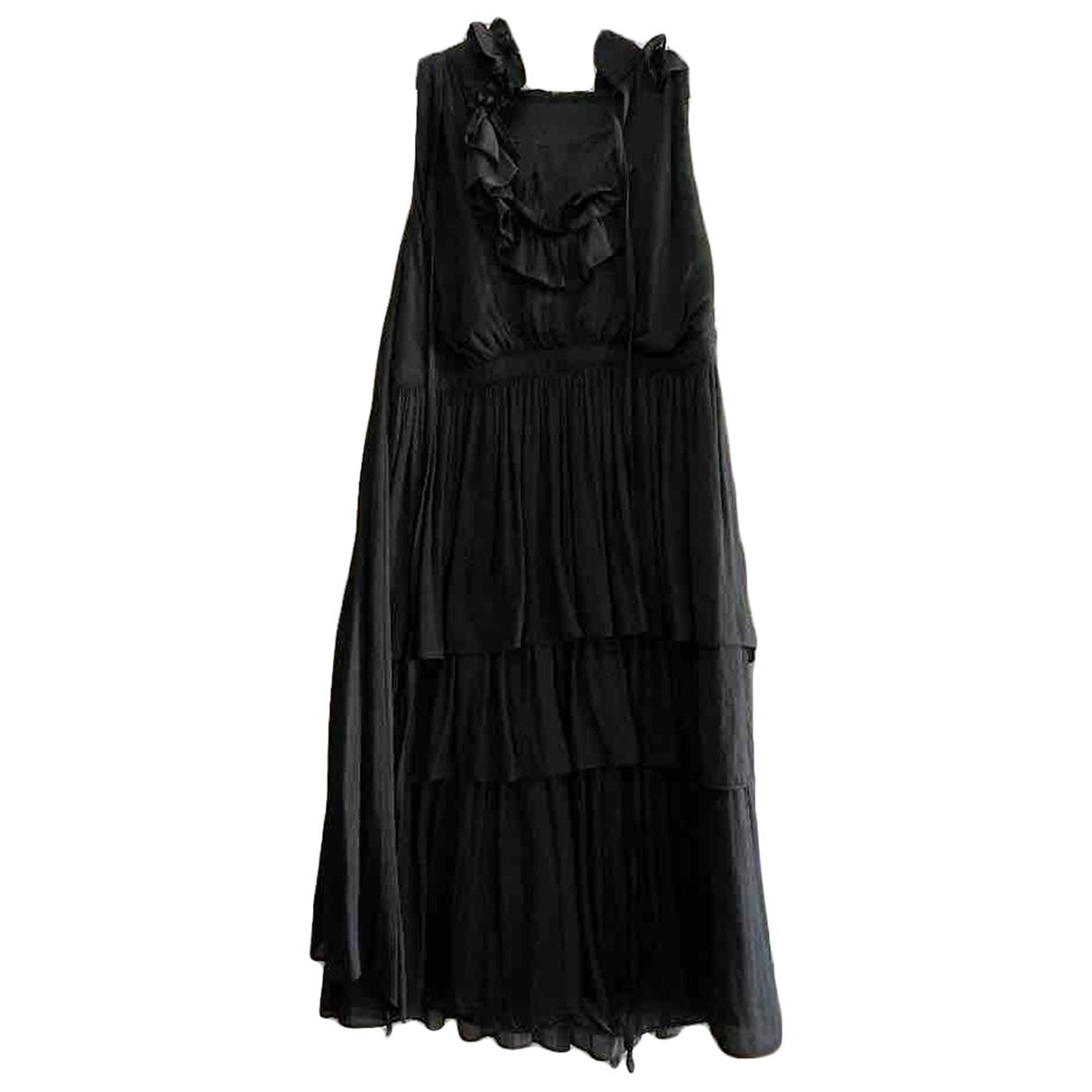 Givenchy - Robe   pour femme en soie - noir