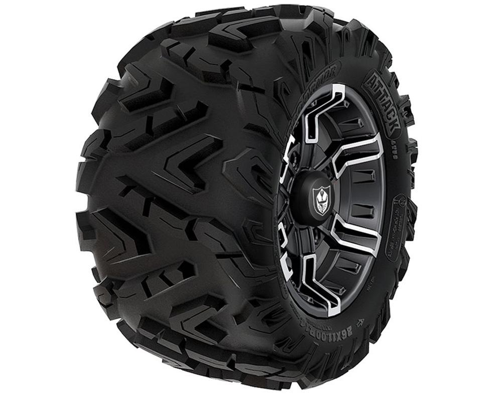 Polaris OEM 2881335 Wheel & Tire Set: Pro Armor Attack & Buckle- Accent