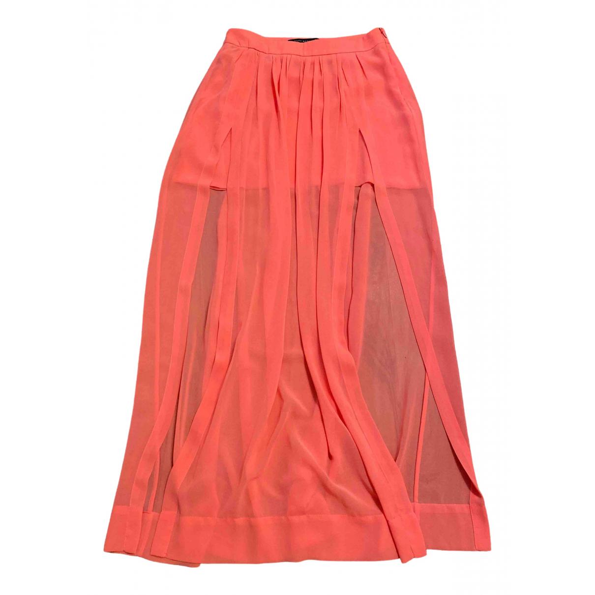 Zara - Jupe   pour femme - orange