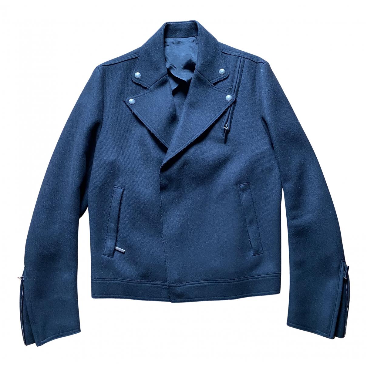 Costume National \N Jacke in  Schwarz Wolle