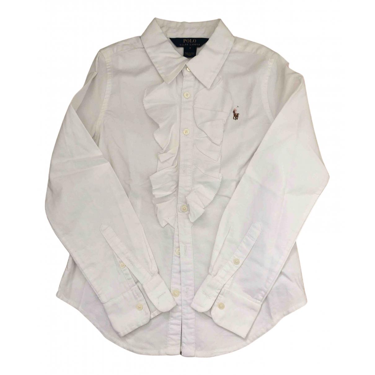 Polo Ralph Lauren \N Oberteile in  Weiss Baumwolle