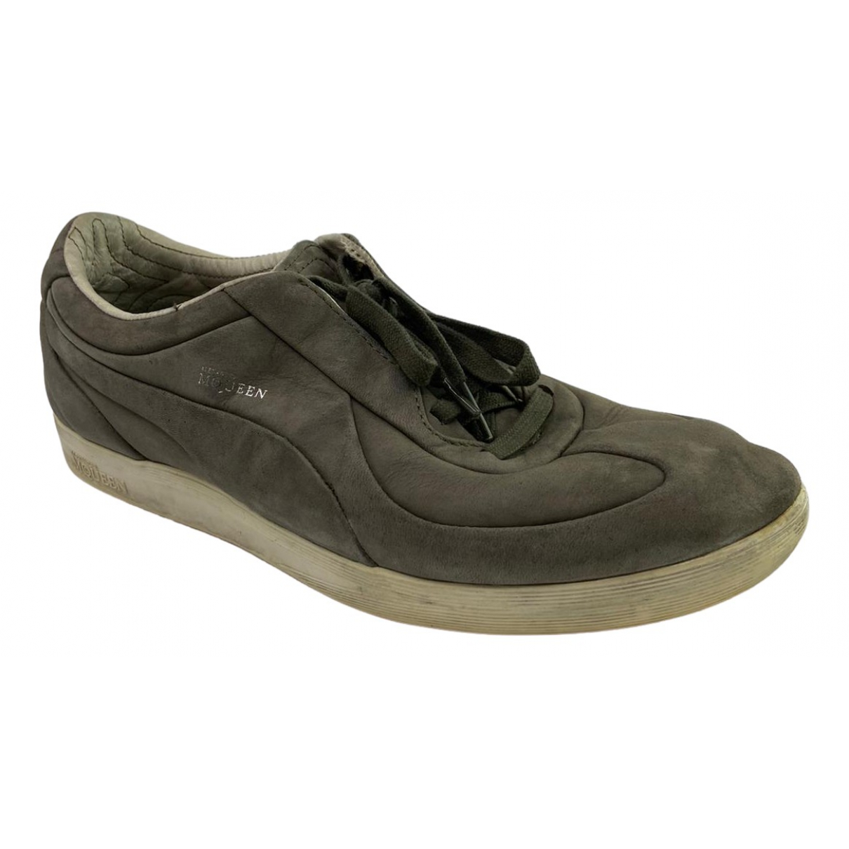 Alexander Mcqueen For Puma \N Brown Leather Trainers for Men 8 US