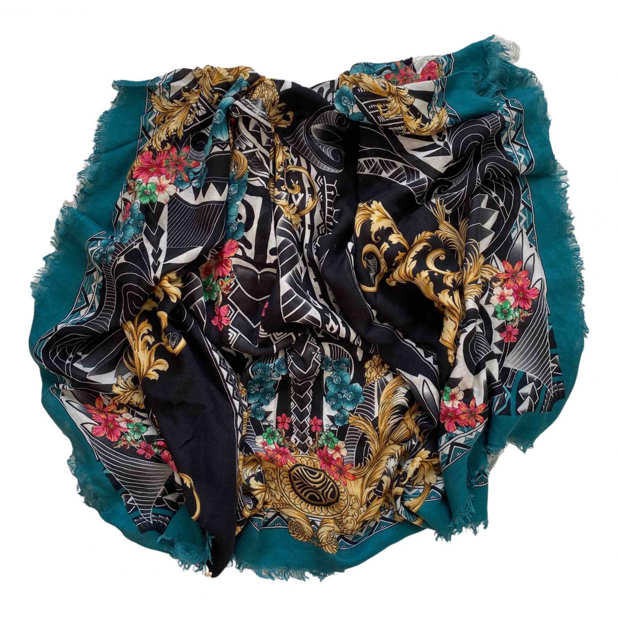 Versace N Multicolour Wool scarf for Women N