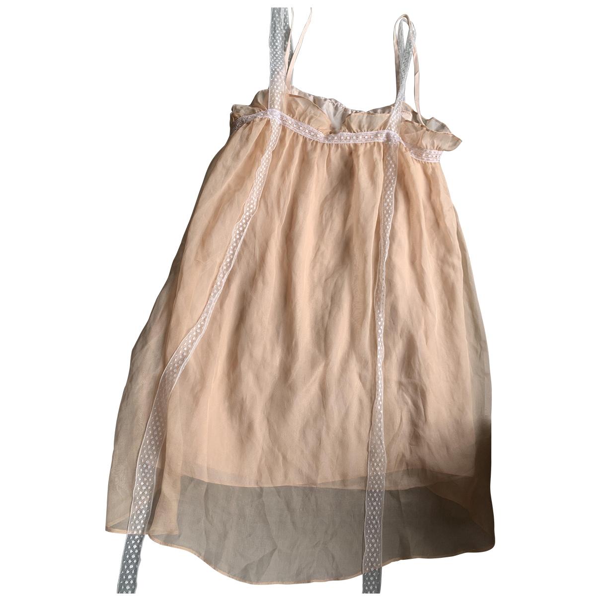 Masscob - Top   pour femme en soie - rose