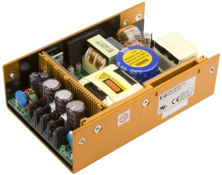 XP Power , 120W AC-DC Converter, 5 V dc, 12 V dc, 24 V dc, Enclosed