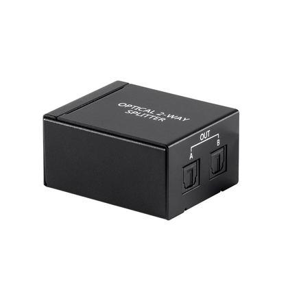 Diviseur audio optique numérique Toslink S / PDIF 1x2 - Monoprice®
