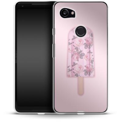 Google Pixel 2 XL Silikon Handyhuelle - Floral Popsicle von Emanuela Carratoni