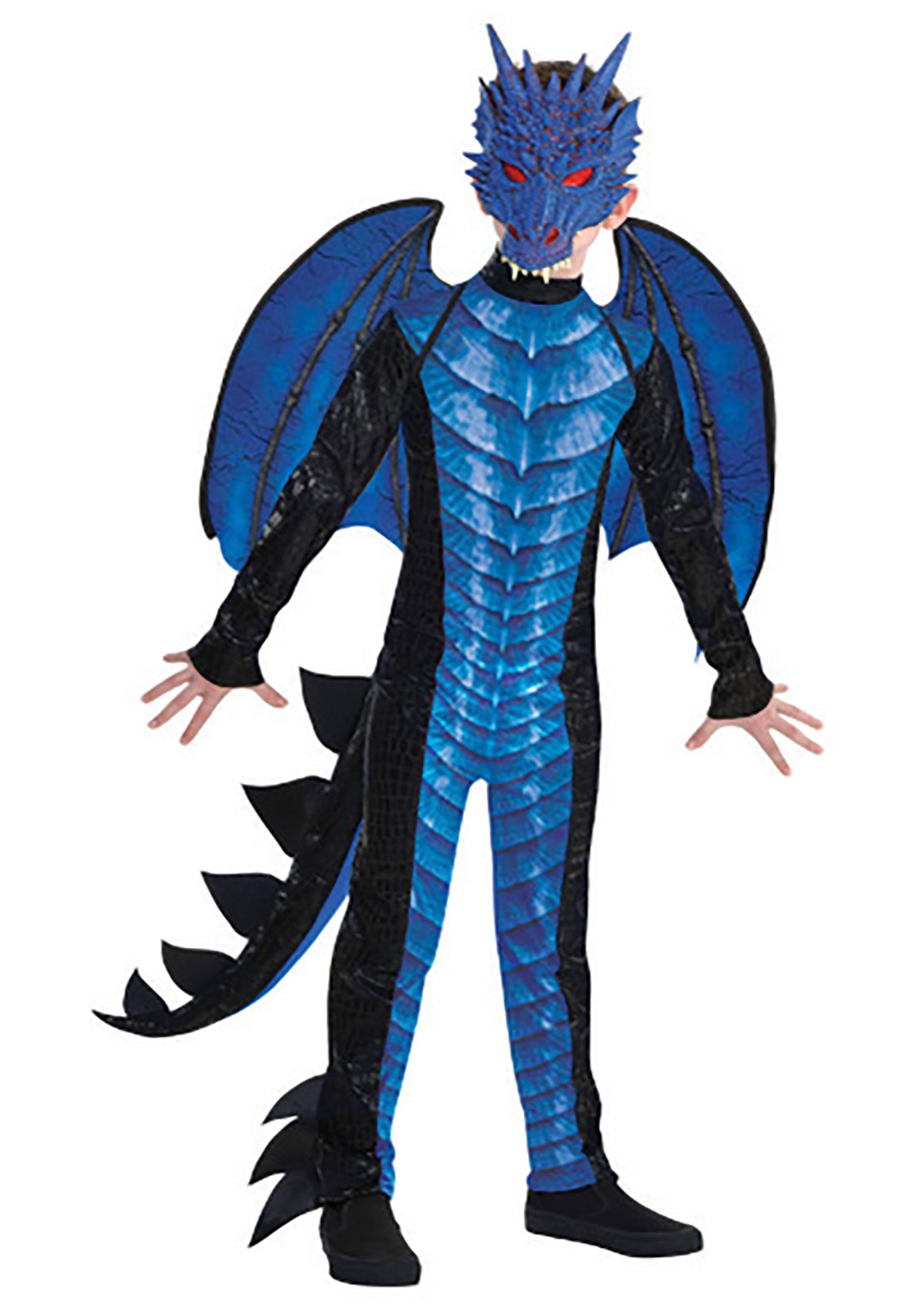 Boy's Deadly Dragon Costume