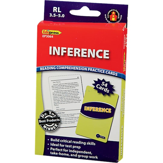 Reading Comprehension Practice Cards, Inference (Rl 3.5-5.0) By Teacher Created Resources | Michaels®
