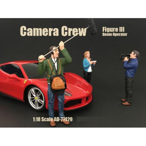 Camera Crew Figure III Boom Operator For 118 Scale Models by American Diorama
