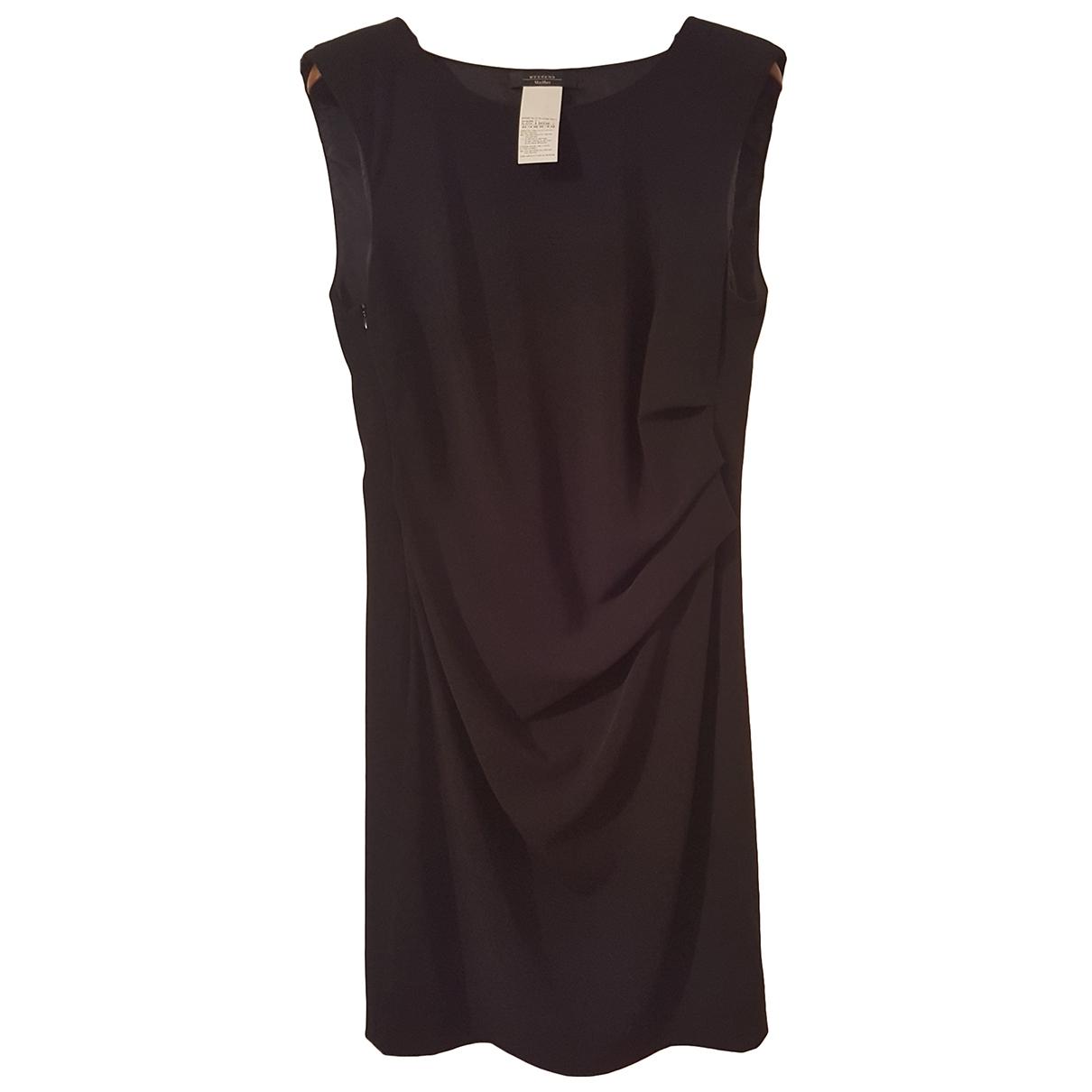 Max Mara Weekend \N Black dress for Women 48 IT