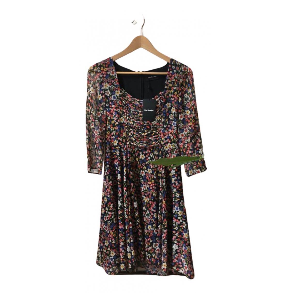 The Kooples \N Kleid in  Schwarz Baumwolle - Elasthan