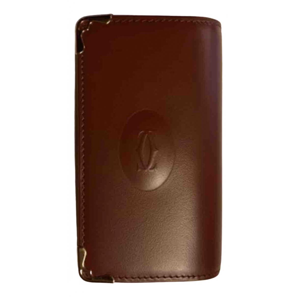 Cartier - Petite maroquinerie   pour femme en cuir - marron