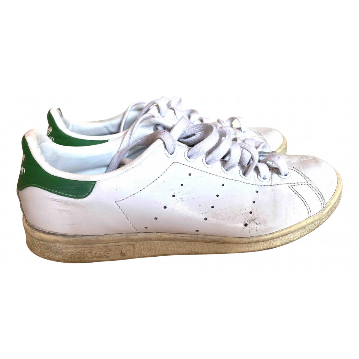 Adidas - Baskets Stan Smith pour homme en cuir - blanc