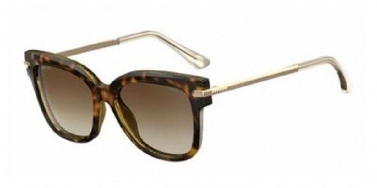 Jimmy Choo Ara/S 0N0K/00 Women's Sunglasses Tortoise Size 54