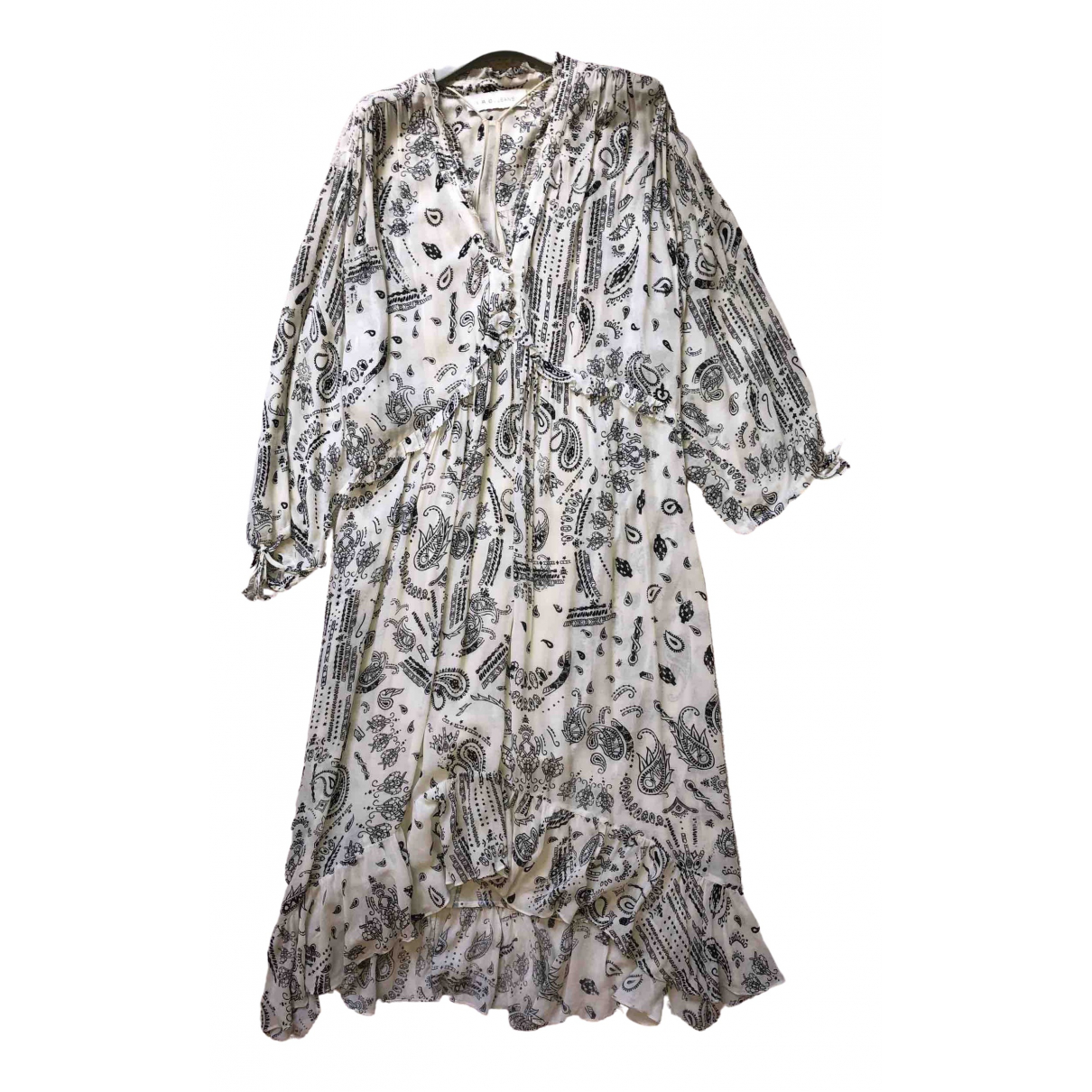 Iro Spring Summer 2019 Kleid in  Bunt Viskose